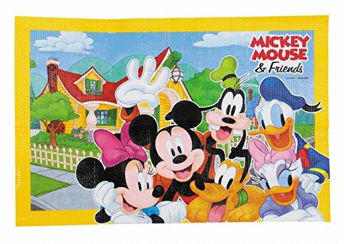 ディズニー レジャーシート ソフトクッション 90×60cm ミッキー&フレンズ スマイル MA-4579