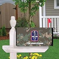 Military第172歩兵旅団磁気メールボックスカバー