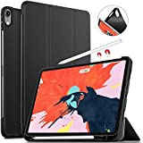 Apple iPad pro 11 inch 2018 Case, IVSO Ultra Slim Stand Cover Case for Apple iPad pro 11 inch 2018 Tablet, Black