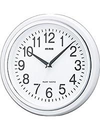 MAG(マグ) 置き時計・掛け時計 ホワイト (約) 高さ27.4×幅.27.4×奥行き4.8cm