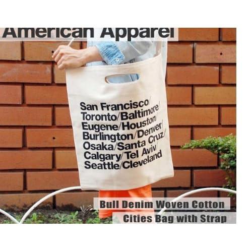 [アメリカンアパレル] American Apparel シティバッグ ホワイト