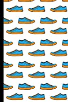 """Sneakers Notebook: College Ruled Journal (6x9"""" 100+ Pages)"""