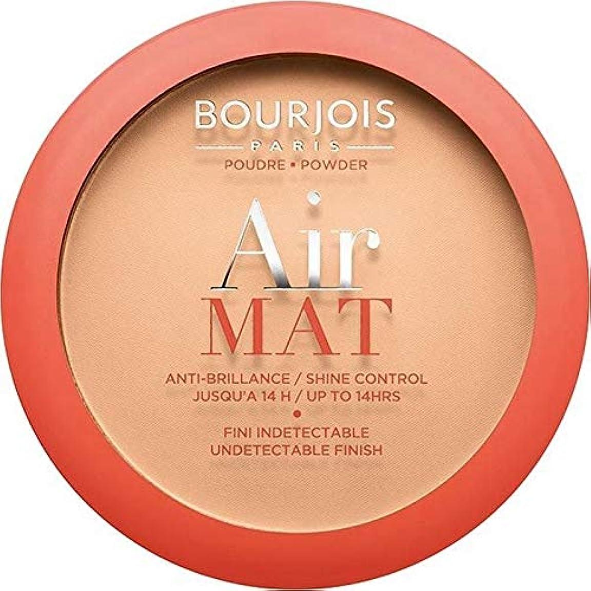 資本上げる一次[Bourjois ] ブルジョワエアーマットは、粉末を押す - アプリコットベージュ - Bourjois Air Mat Pressed Powder - Apricot Beige [並行輸入品]