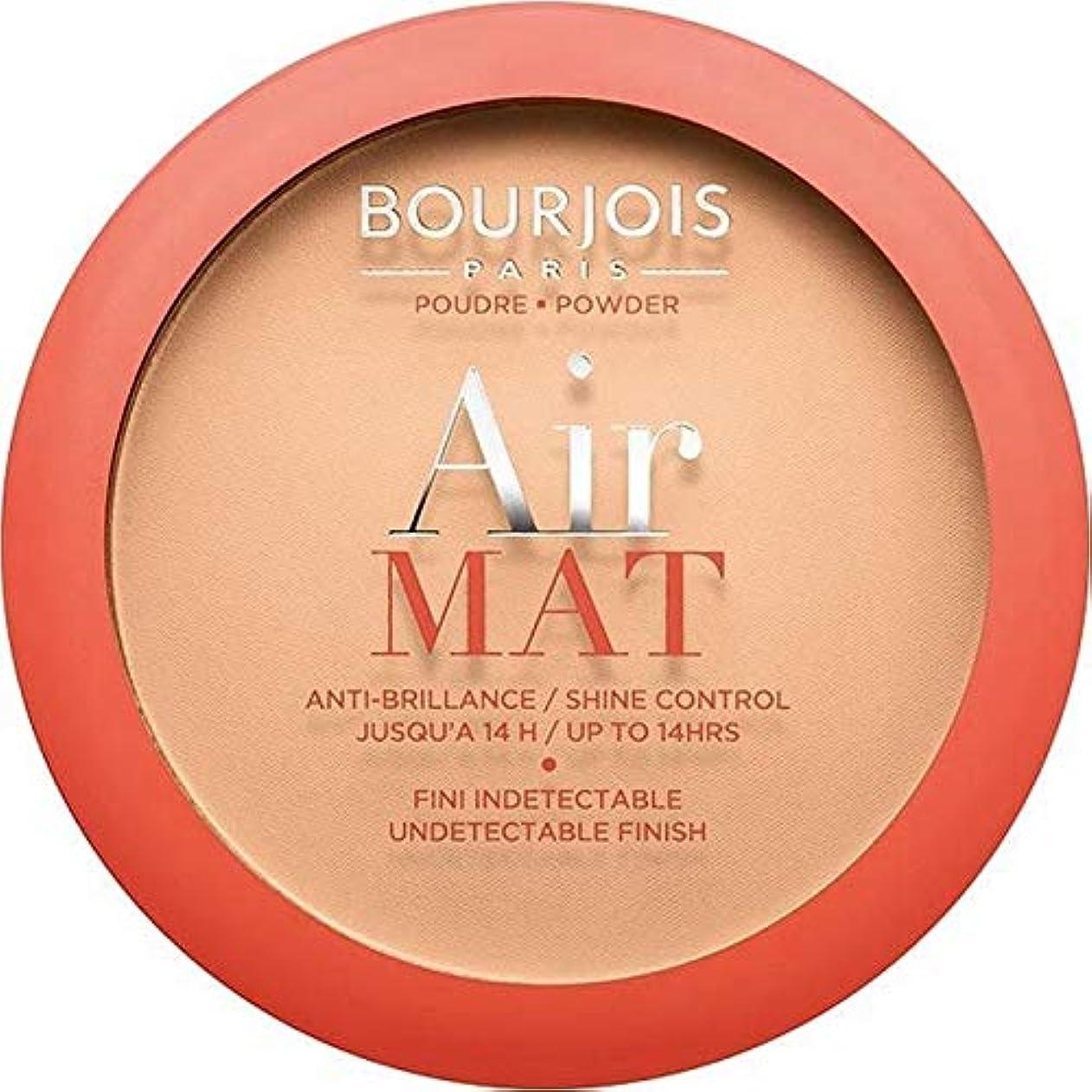 ダブル乱雑なワーカー[Bourjois ] ブルジョワエアーマットは、粉末を押す - アプリコットベージュ - Bourjois Air Mat Pressed Powder - Apricot Beige [並行輸入品]