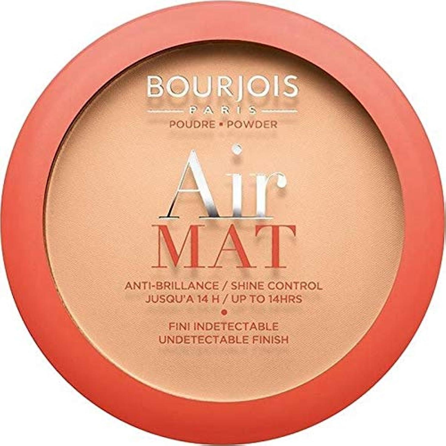 密で眠いです[Bourjois ] ブルジョワエアーマットは、粉末を押す - アプリコットベージュ - Bourjois Air Mat Pressed Powder - Apricot Beige [並行輸入品]