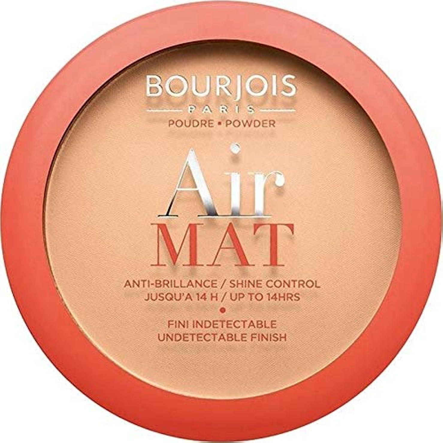花婿六欠陥[Bourjois ] ブルジョワエアーマットは、粉末を押す - アプリコットベージュ - Bourjois Air Mat Pressed Powder - Apricot Beige [並行輸入品]