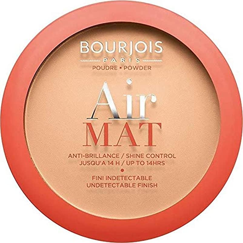 ラベルパトワ食用[Bourjois ] ブルジョワエアーマットは、粉末を押す - アプリコットベージュ - Bourjois Air Mat Pressed Powder - Apricot Beige [並行輸入品]