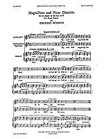 Herbert Sumsion: Magnificat And Nunc Dimittis In G (Boys Voices) / ハーバート・サムション: 賛歌とヌンク・ディミティス ト長調(少年合唱)合唱楽譜