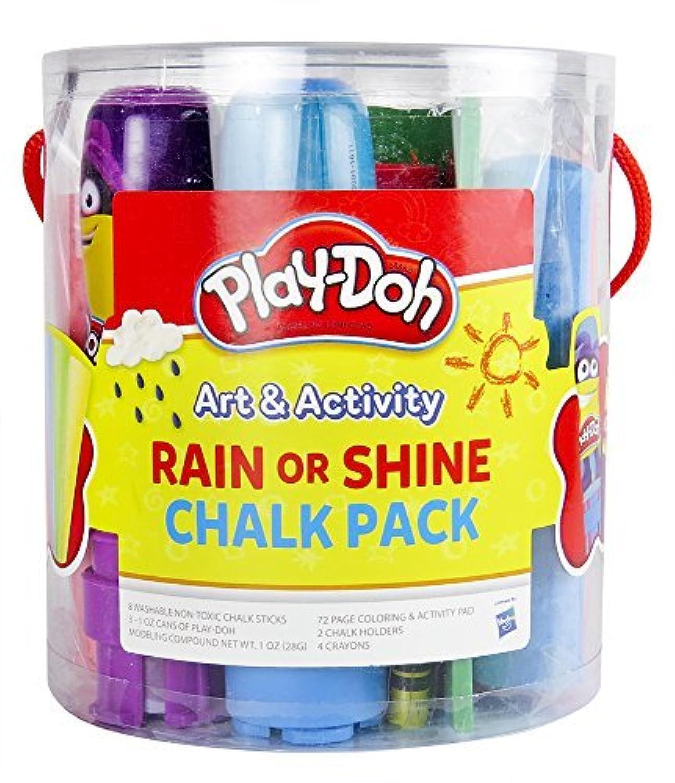 Play-Doh 8 Count Rain or Shine Chalk Pack (09260) [並行輸入品]