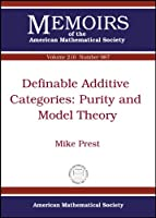 Definable Additive Categories: Purity and Model Theory (Memoirs of the American Mathematical Society)