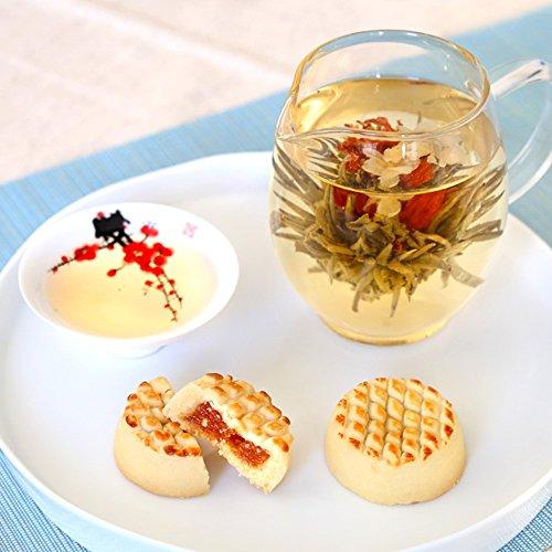 プチギフト 女性が喜ぶ お菓子 工芸茶【プチプチほっこりセット】