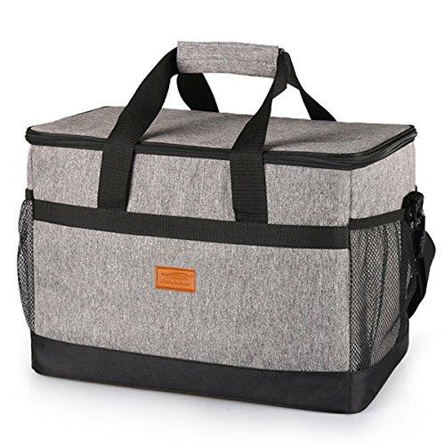 HAOYONG 大容量 クーラーバッグ 約33L 保冷バッグ 折り畳み式 丈夫 防水&持ち運び便利 ランチバッグ お弁...