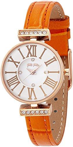 [フォリフォリ]Folli Follie 腕時計  ミニダイナスティ シルバー文字盤 ステンレス(PGPVD)ケース WF13B014SSW-OR レディース 【並行輸入品】
