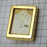ラコステ 限定 レア ブローチ ラコステのポロシャツ服 フランス アンティーク