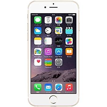 Apple iPhone6 A1586 (MG492J/A) 16GB ゴールド 【国内版 SIMフリー】
