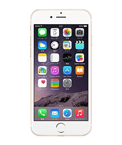 Apple iPhone 6 128GB ゴールド 【au 白ロム】MG4E2J