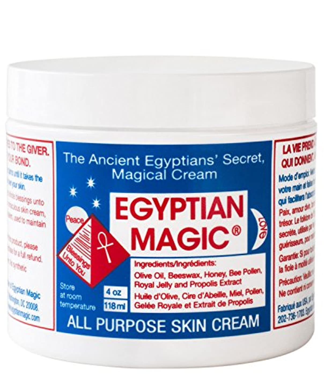体系的に精神シュガーEgyptian Magic All Purpose Skin Cream 118ml - エジプトの魔法の万能スキンクリーム118ミリリットル [並行輸入品]