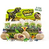 I Dig It! Dinos - 24 Dinosaur Egg Gift Set Excavation Kit, Party Favors, Stocking Stuffers, Easter Baskets, Collect Them All, Includes Bonus Content from Thames & Kosmos
