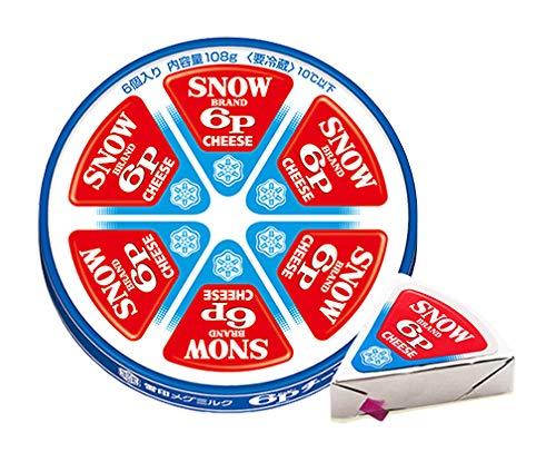 雪印メグミルク 6Pチーズ 108g(18gX6)X12個