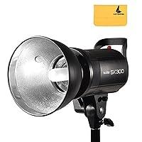 Godox SK300 プロ用 スタジオフラッシュ SK シリーズ 220V パワー マックス 300WS GN58 スタジオフラッシュ ストロボライト ランプヘッド モノライト 付き ポートレート撮影 証明書撮影 製品撮影に最適