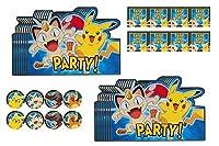 Pok?mon Party Invitations 16 Ct 【You&Me】 [並行輸入品]