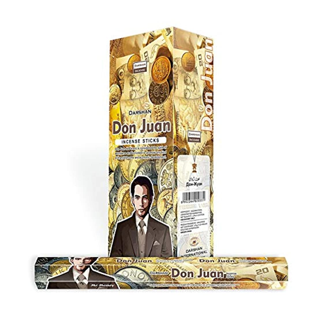 傘ばか飛ぶサンタMuerteレッド – 120 Sticksボックス – Darshan Incense