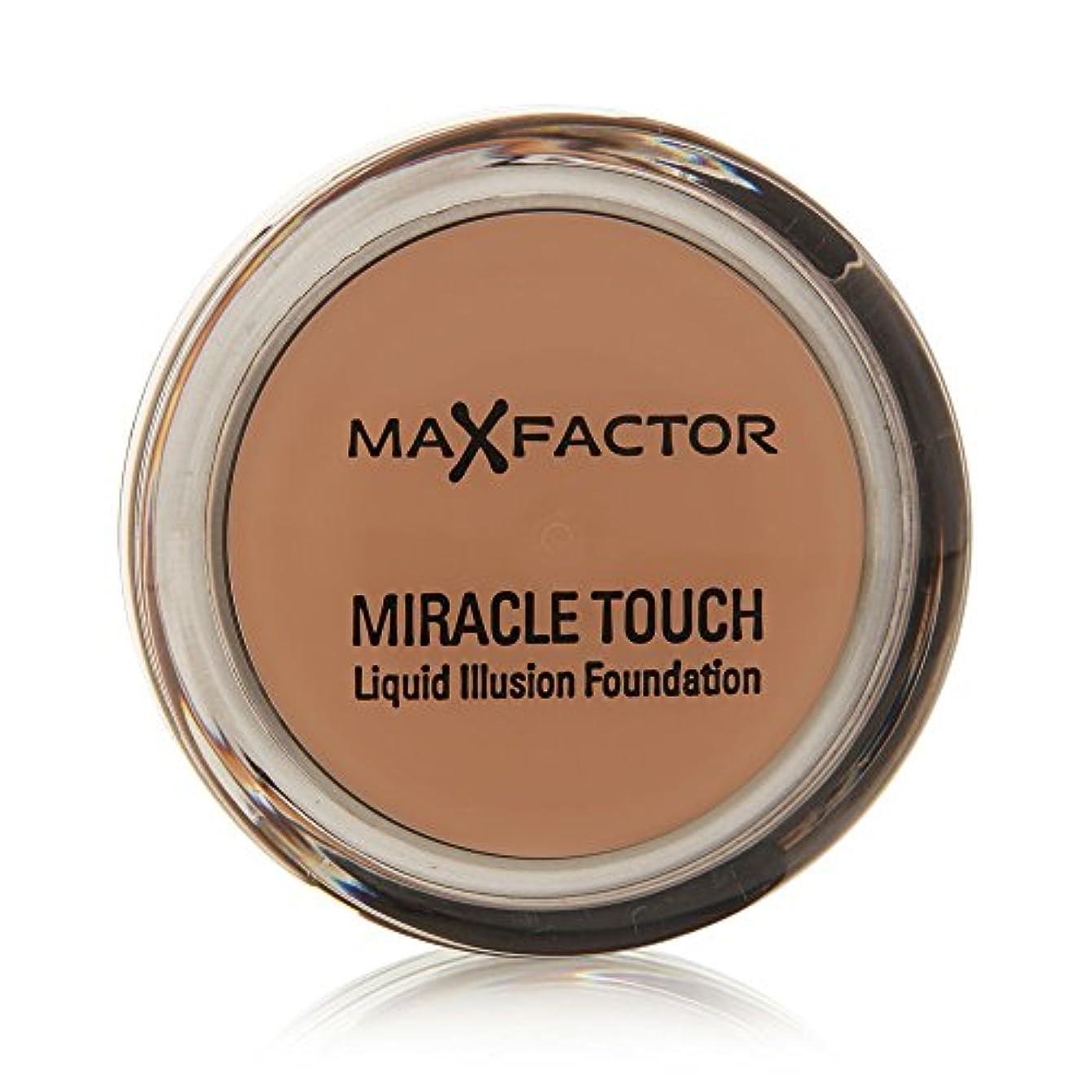 マージン顧問貢献するMiracle Touch Foundation de Max Factor - fond de teint Caramel 85