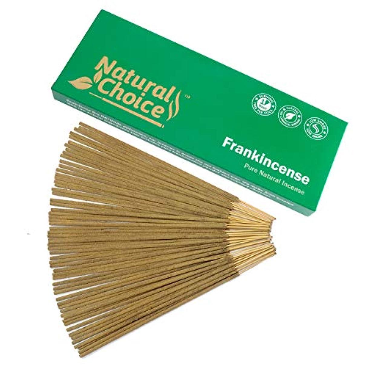 荒れ地信念確立Frankincense ( Loban ) Incense Sticks 100 gm – Made from Scratch – No Dipping
