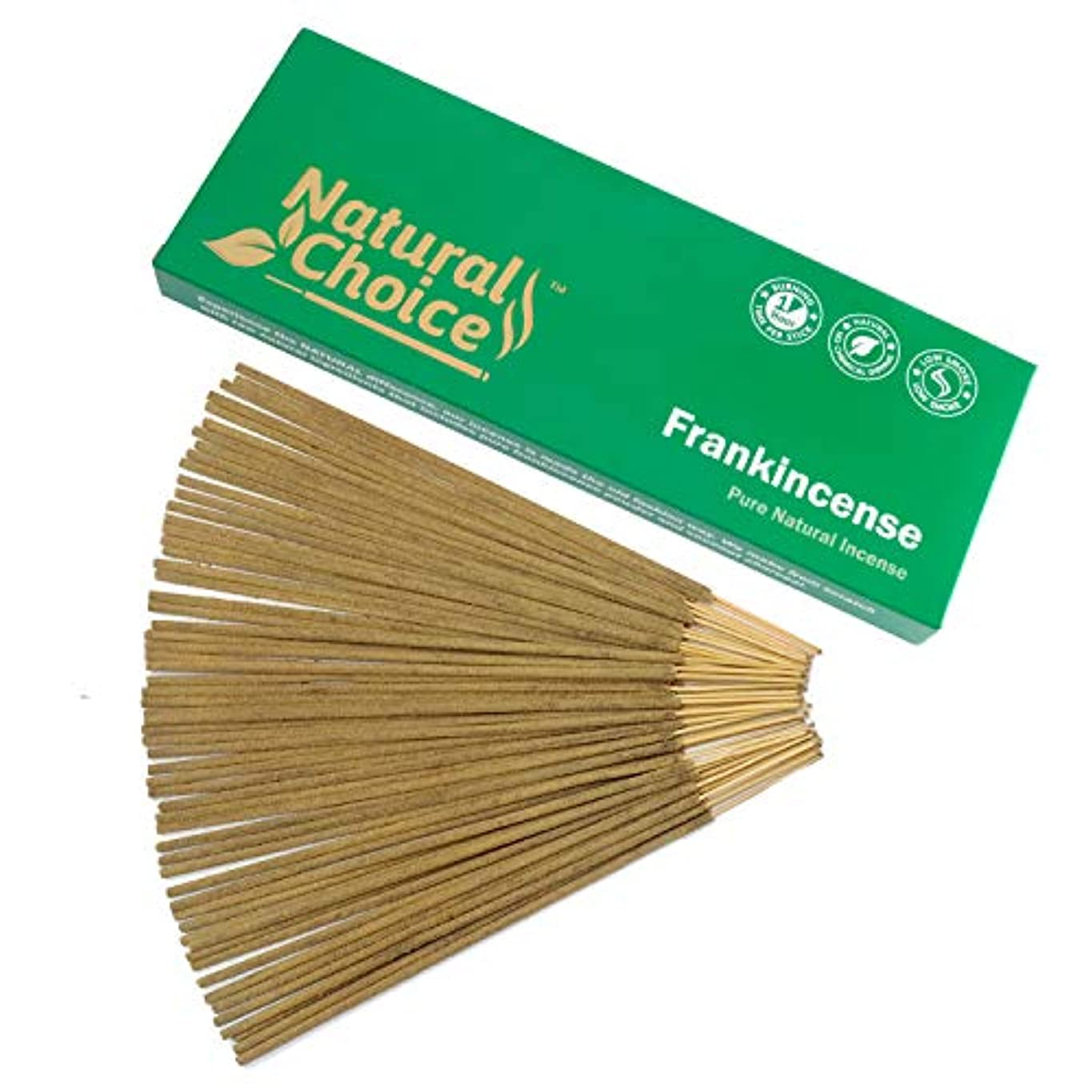 ヘルメット貸す宿泊Frankincense ( Loban ) Incense Sticks 100 gm – Made from Scratch – No Dipping