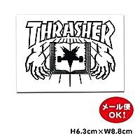 スラッシャー ステッカー【Thrasher book and hands sticker】