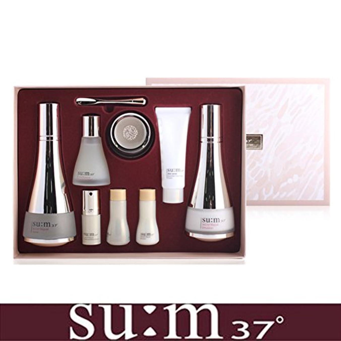 つかの間わずかに利用可能[su:m37/スム37°] SUM37 Secret Repair 3pcs Special Skincare Set / シークレットリペア3種セット+[Sample Gift](海外直送品)