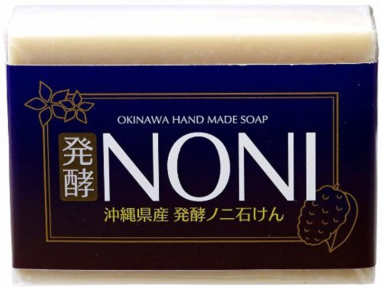 受動的削る悪魔沖縄 手作り ナチュラル洗顔 NONI石鹸 100g×5個 GreenEarth 発酵ノニを使用した保湿力の高いナチュラルソープ