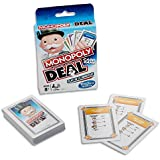MONOPOLY Deal - Card Game - Short Play - 2 to 6 Players - Family Board Games - Ages 8+