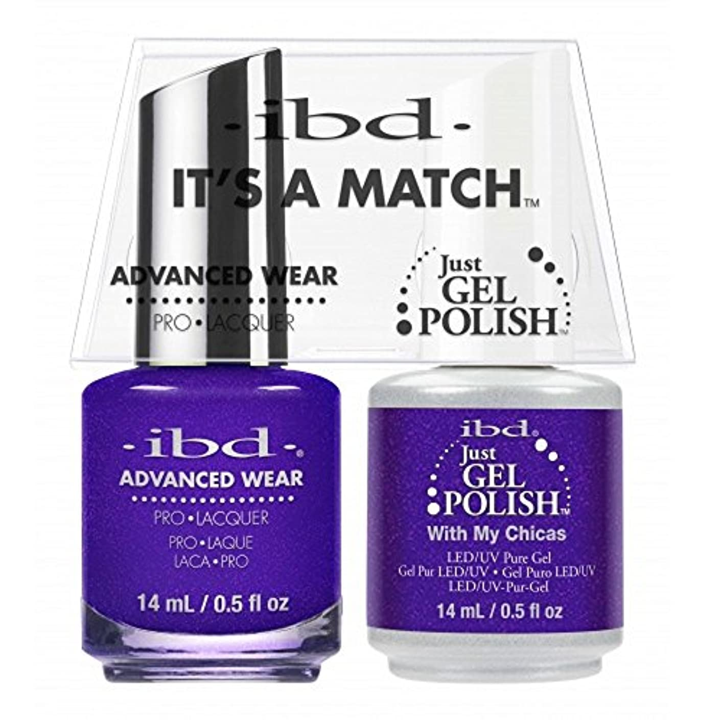 ibd - It's A Match -Duo Pack- Love Lola Collection - With My Chicas - 14 mL / 0.5 oz Each
