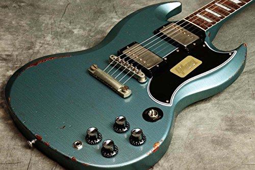 Gibson Custom / 2017 Limited Run SG Standard Heavy Aged Antique Pelham Blue