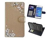 「kaupili」 Samsung Galaxy S9 SC-02K docomoケース 鏡/ミラー付き カード収納 スタンド機能 手帳型 お財布機能付き 化粧鏡付き