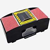 Riiai Shuffle Machine Board Game Poker Playing Cards Electric Automatic Card Game Party Entertainment and Card Shuffler Essen