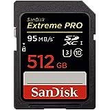 サンディスク Extreme Pro 95MB/s(633倍速) SDXCカード Class 10 UHS-I U3対応 512GB SDSDXPA-512G-G46