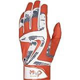 NIKE 野球用品 Nike MVP Elite Adult野球バッティンググローブgb0401ホワイト/ウルフグレー/ブラック( S )