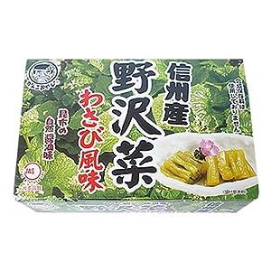 穂高観光 野沢菜わさび風味 140g
