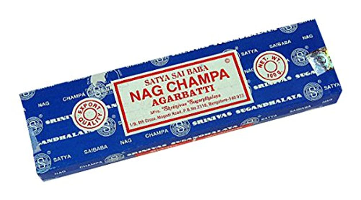 エクステントオーバーコートペグNag Champa - 香のSatya Saiのババ - 1グラム [並行輸入品]