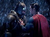 ポスター/スチール 写真 A4 パターンM14 バットマン vs スーパーマン ジャスティスの誕生 光沢プリント