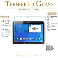 [ 2パック] KIQプレミアム強化ガラススクリーンプロテクターfor Samsung Galaxy Tab A 9.7SM - t550[ Realガラス、9h硬度、傷防止、気泡なく、自己粘着、簡単なインストール、0.30MM厚さ]
