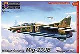 KPモデル 1/72 チェコスロバキア空軍 MiG-23UB フロッガーC ワルシャワ条約機構加盟国 プラモデル KPM0140