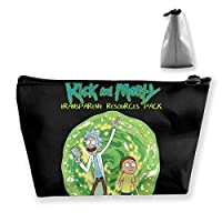 Rick And Morty 1 収納袋 台形 小物収納 バッグ 高級 小物ポーチ 収納ポーチ 旅行/通勤/通学など用 収納便利グッズ 手提げ