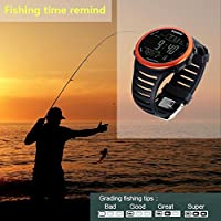 Men Watch Digital Outdoor Fishing Weather Altimeter Barometer Altitude Hour Watch