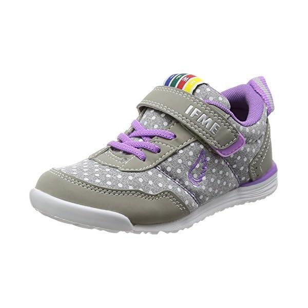 [イフミー] 運動靴 イフミーライト グレー 1...の商品画像