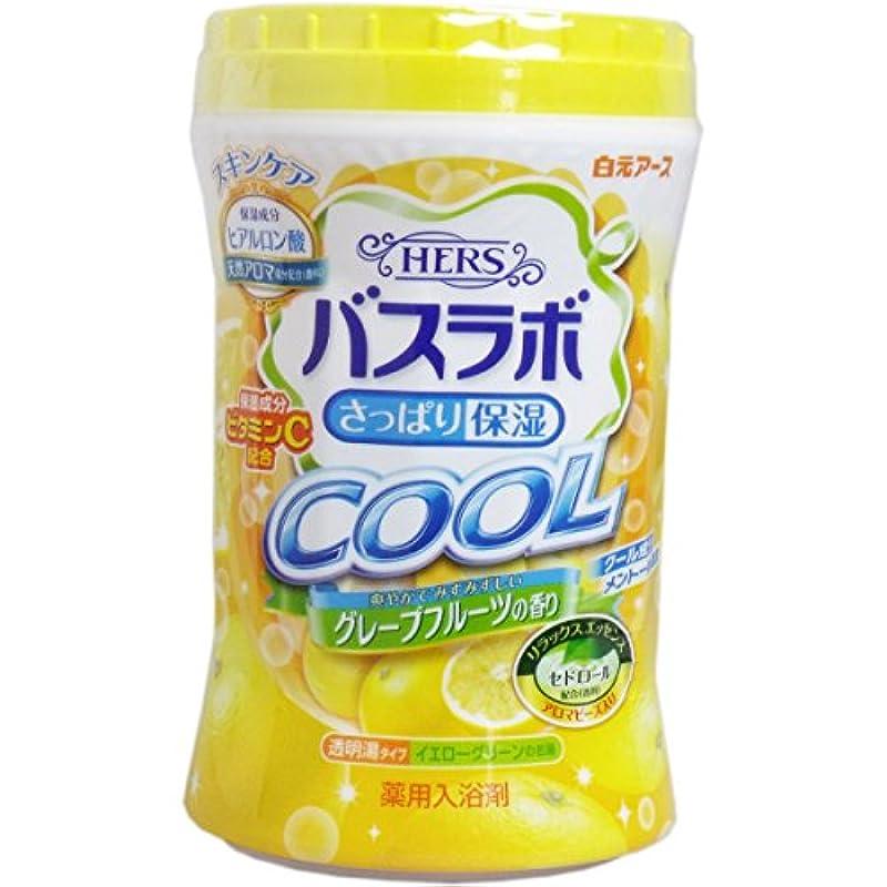 風定説枯渇するHERSバスラボ ボトル クール グレープフルーツの香り 640g