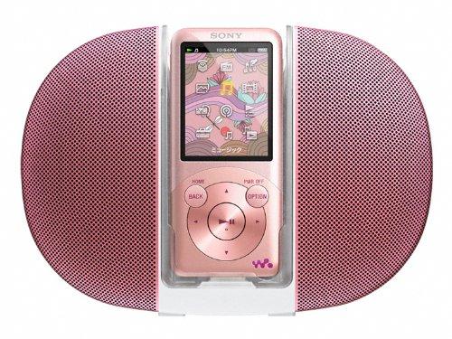 SONY ウォークマン Sシリーズ [メモリータイプ] スピーカー付 8GB ライトピンク NW-S754K/PI