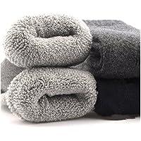 靴下 メンズ 冬 防寒 優れた保温力のセット ソックス 厚手 あったか温暖力【Peabownn】